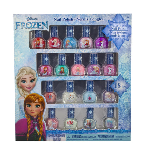 Frozen Pastel-Perfect 18 Piece Non-Toxic Peelable Nail Polish Set