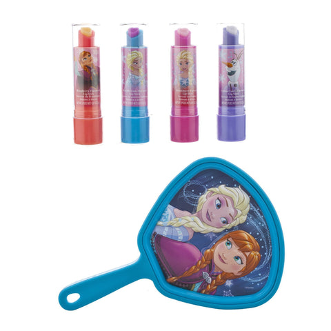 Frozen 4 Pack Lip Stick with Small Mirror