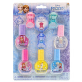 Frozen 5 Pack Nail Polish with Bonus Light-Up Rings