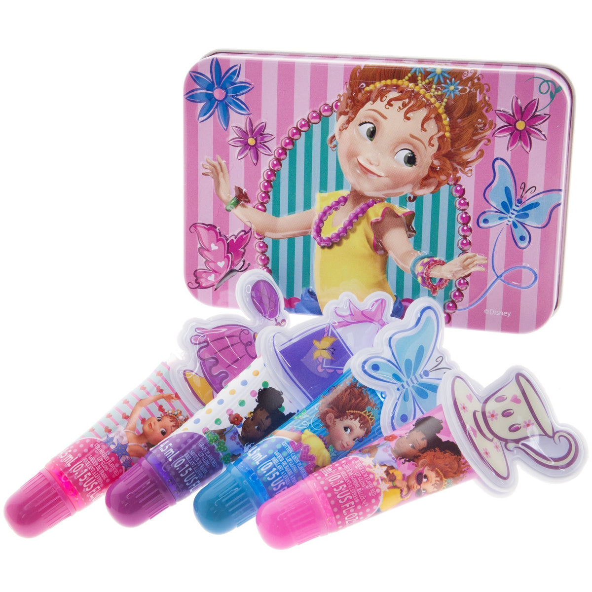Fancy Nancy 4 Pk Lip Gloss With Bonus Case Townleygirl