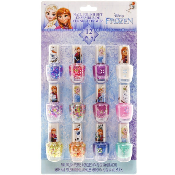Frozen Glitter and Confetti Nail Polish Party Pack- Oil Based - Townleygirl