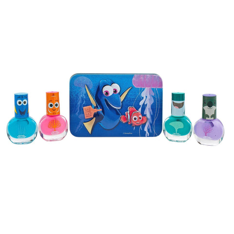 Finding Dory 4 Pack Nail Polish with Carrying Case