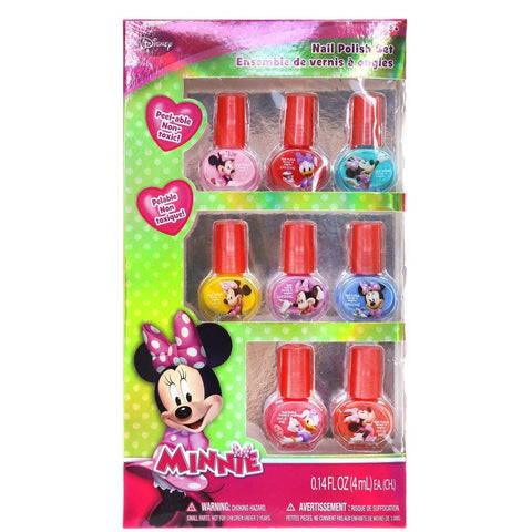 Minnie Mouse 8 Pack Nail Polish Set