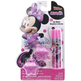 Minnie Mouse Lip Balm with Glitter Hair Clips