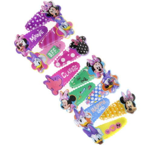 Minnie Mouse 12 Pack Hair Clip Set