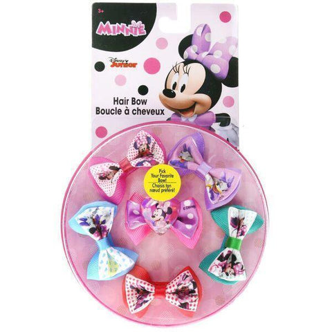 Minnie Mouse Hair Bow Wheel