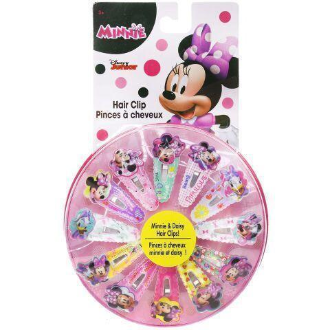 Minnie Mouse Hair Clip Wheel