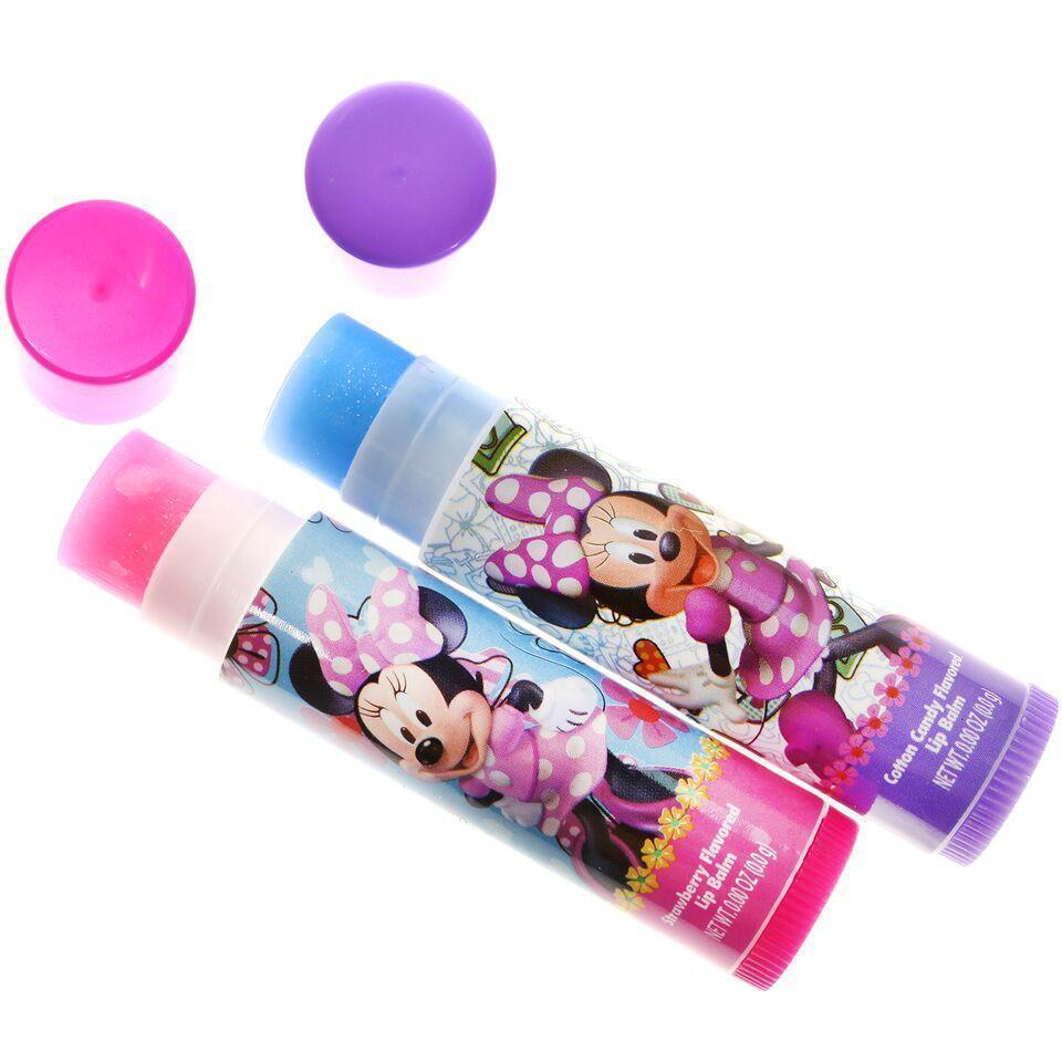 Minnie Mouse 2 Pack Lip Balm Set