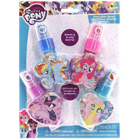 My Little Pony 4 Pack Body Glitter Spray - Townleygirl