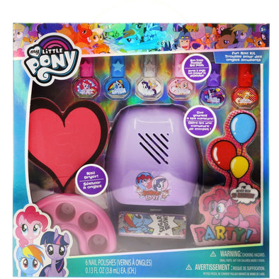 My Little Pony Fun Nail Kit with Nail Dryer - Townleygirl