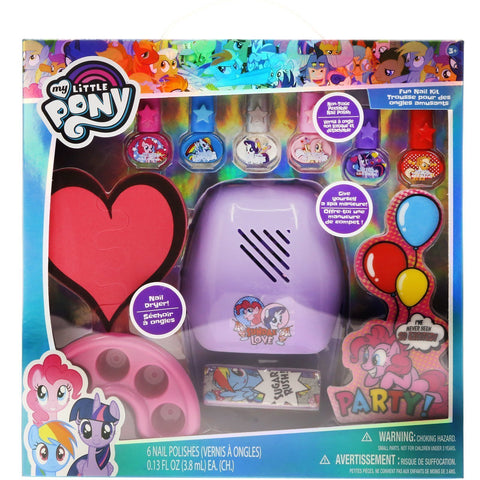 My Little Pony Fun Nail Kit with Nail Dryer