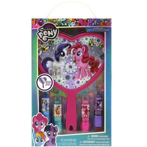 My Little Pony 4 Pack Lip Balm with Mirror Set - Townleygirl