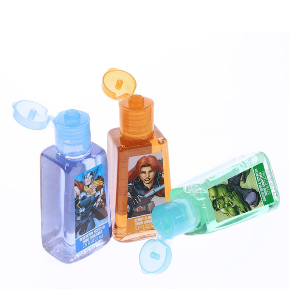 Marvel 6 Pack Hand Sanitizer with Holder Set - Townleygirl