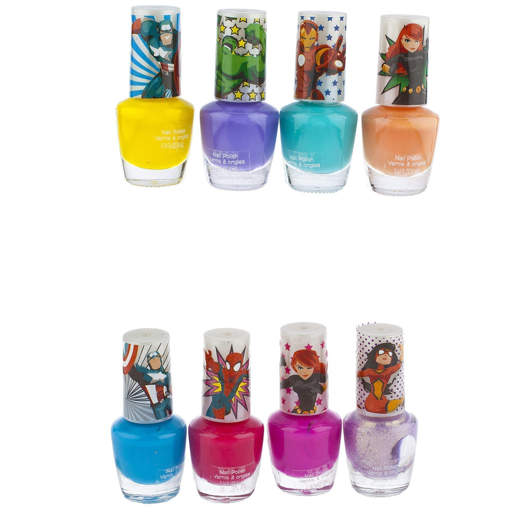 Avengers 8 Pack Nail Polish with Nail File