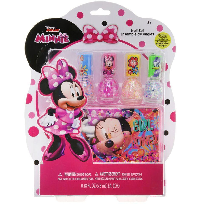 Minnie Mouse Nail Polish Set With Dryer Hession Hairdressing