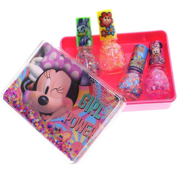 Disney Minnie Mouse Confetti Nail Polish Set