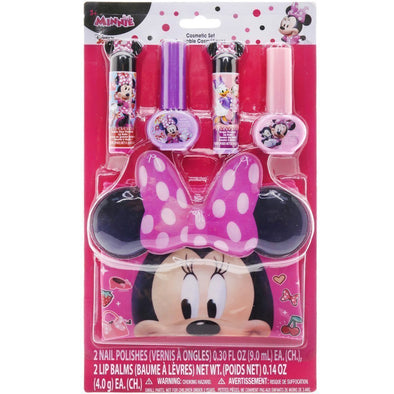 Disney Minnie Mouse Nail and Lip Set with Bag