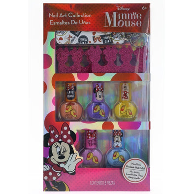 Disney Minnie Mouse Nail Art Collection