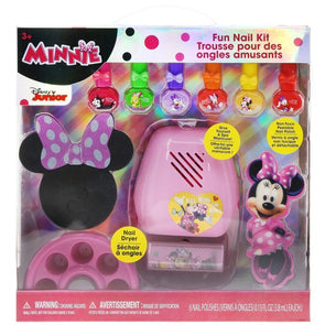 Disney Minnie Mouse Nail Kit with Nail Dryer