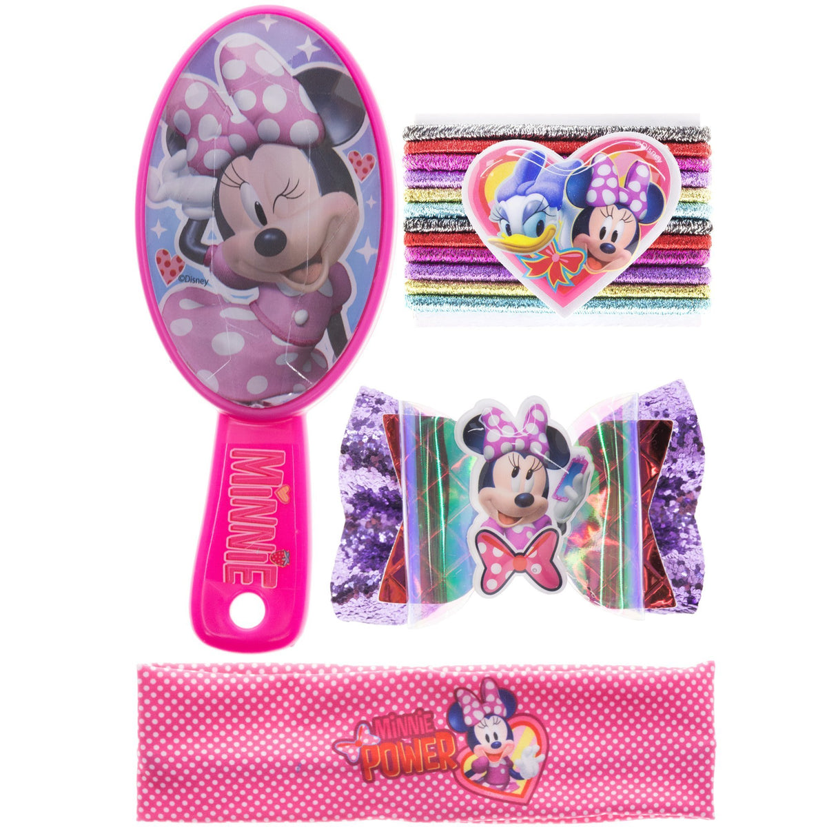 Minnie Mouse Hair Accessories Kit 15 Pcs Townleygirl