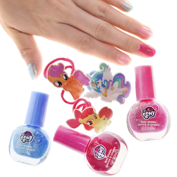My little pony nail designs