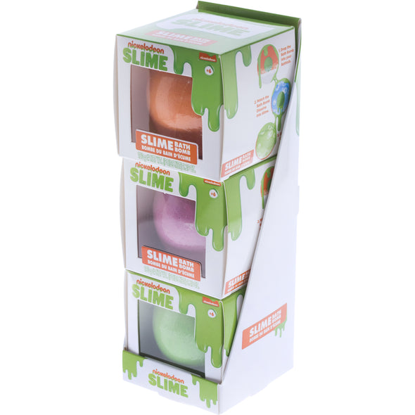 Nickelodeon Slime Bath Bomb Multi-Pack