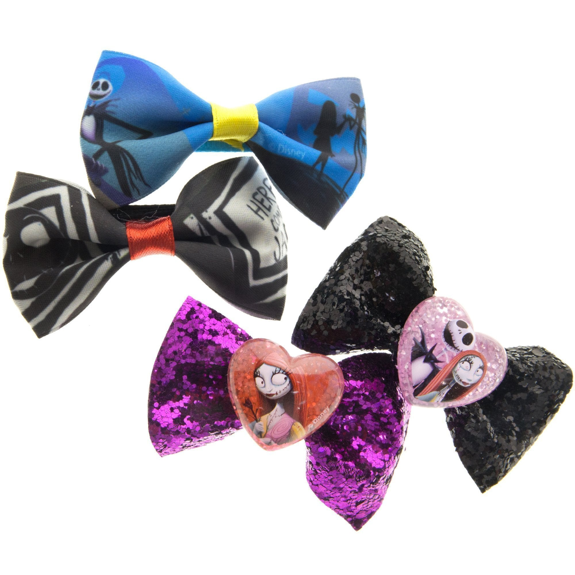 Nightmare Before Christmas Hair Bow Set – TownleyGirl