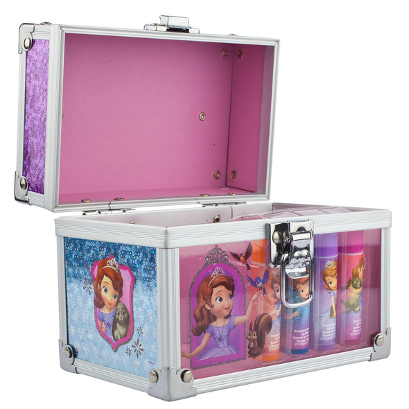 Sofia The First 4 Pack Lip Balm With Carrying Case - Townleygirl