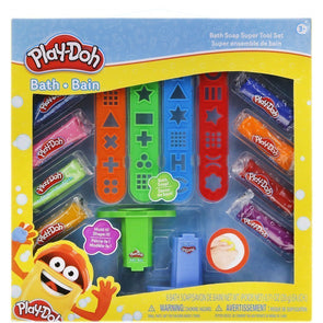 Play-Doh Bath Soap Super Tool Set