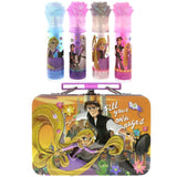 Tangled 4 Pack Lip Gloss Set with Bonus Carrying Case
