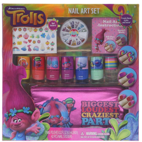 Trolls Nail Art Set