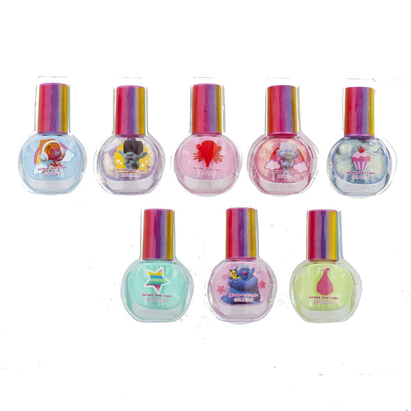 Trolls 18 Pack Non-Toxic Nail Polish Set - Townleygirl