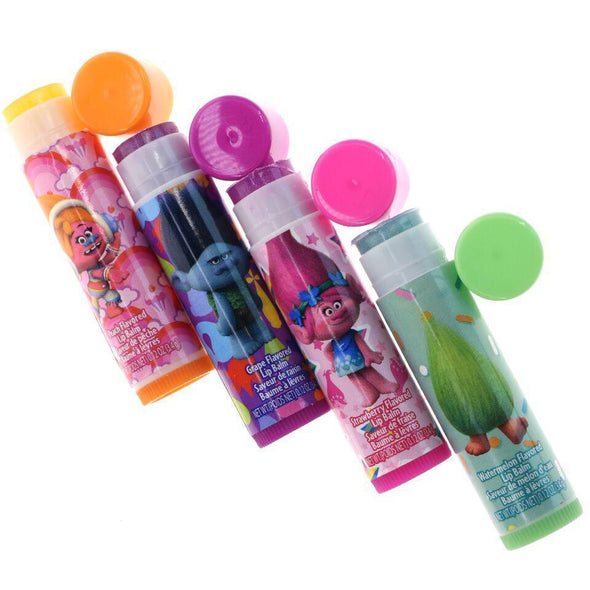 Trolls 4 Pack Lip Balm With Water Tank - Townleygirl