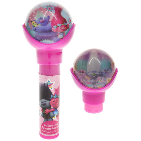 Trolls Lip Balm with Bouncy Ball