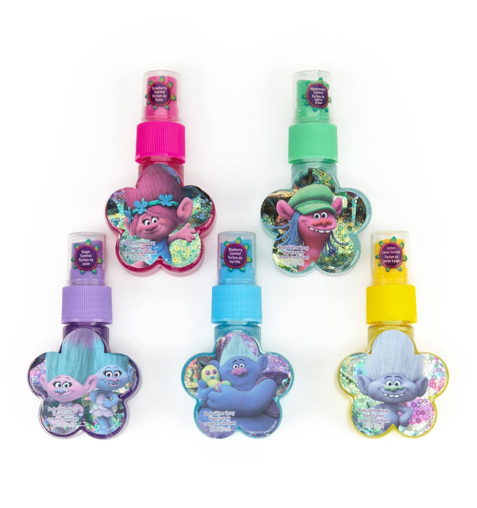 Trolls 5 Pack Body Glitter Spray