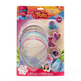 Trolls 6 Pack Headband Set