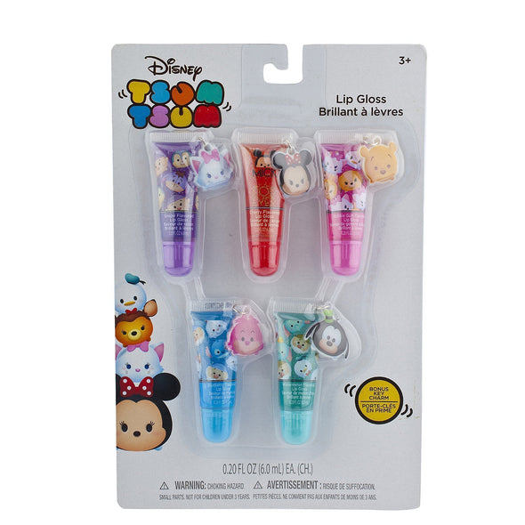 Tsum Tsum 5 Pack Lip Gloss Set - Townleygirl