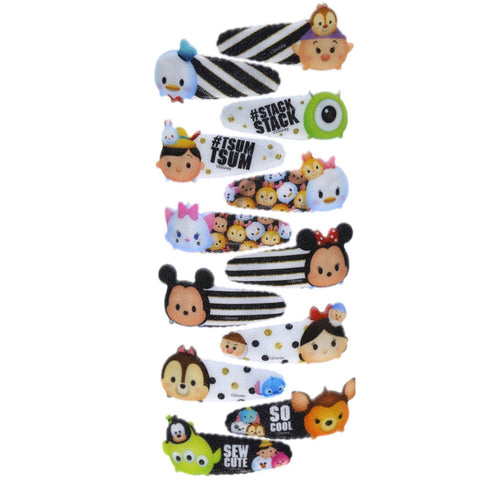 Tsum Tsum 12 Pack Hair Clips