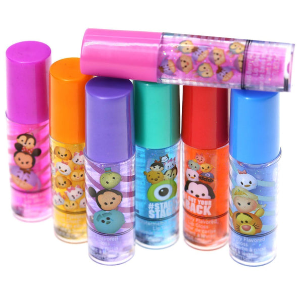 Tsum Tsum 7 Pack Lip Gloss Set - Townleygirl