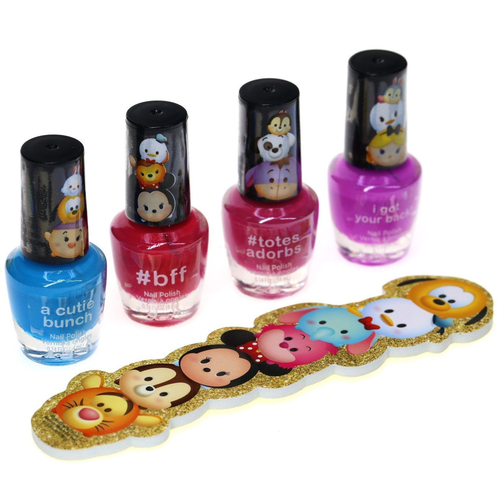 Tsum Tsum 4 Pack Nail Polish with File