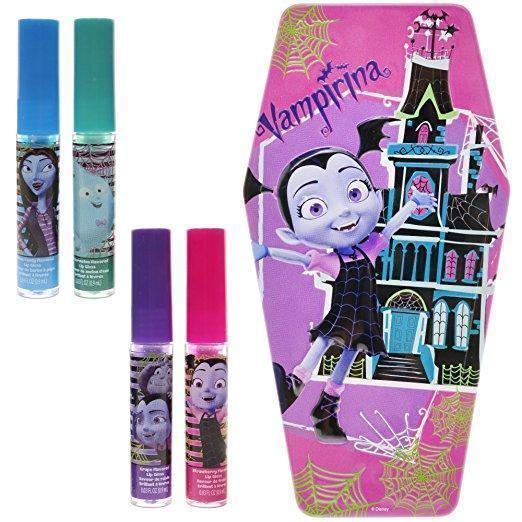 Vampirina lip gloss coffin tin