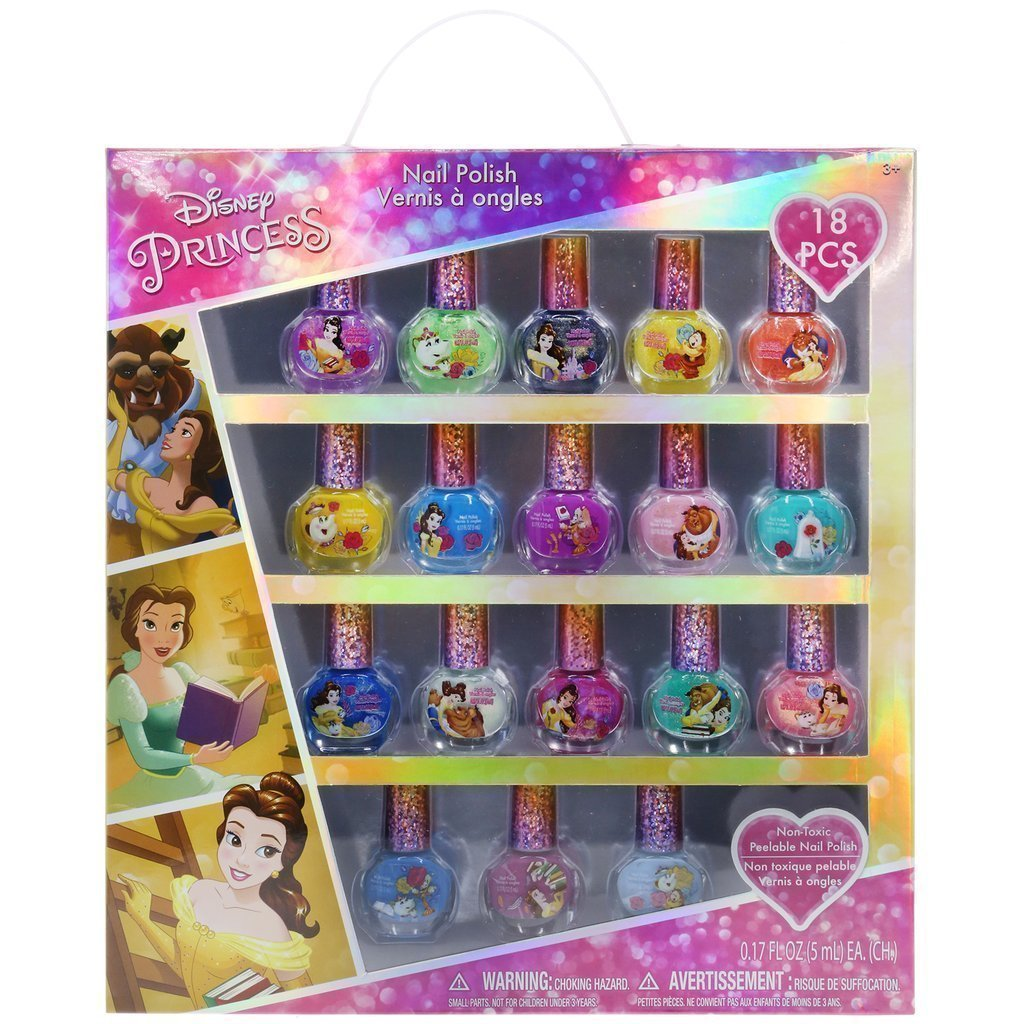 Disney Princess\' Belle 18 Pack Nail Polish Collection – TownleyGirl