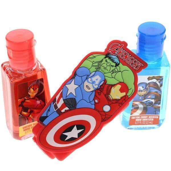 Avengers 2 Pack Hand Sanitizers with Holder