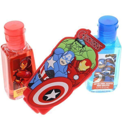 Avengers 2 Pack Hand Sanitizer with Holder Set