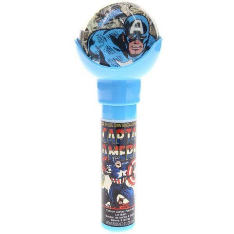Captain America Lip Balm with Bouncy Ball