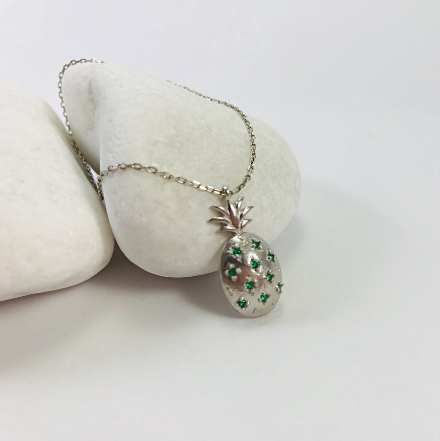 Pineapple Necklace Small