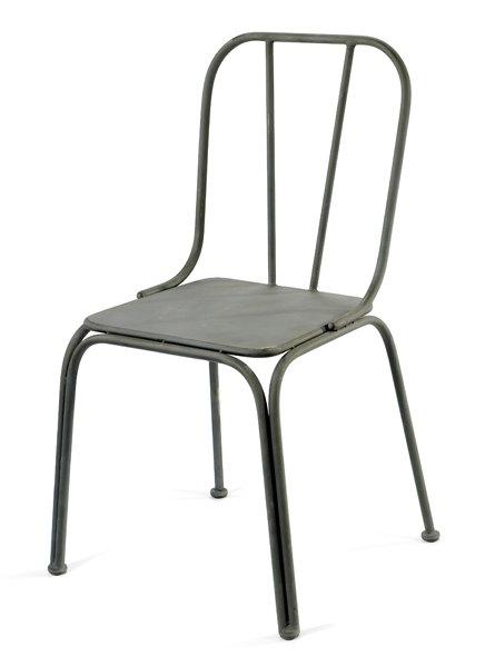 4x Downtown Chair Grey