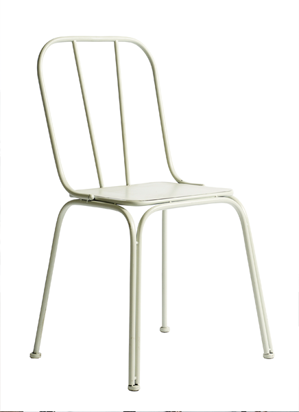 4x Downtown Chair White