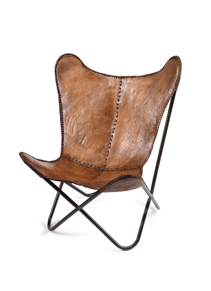 Nordal Butterfly Chair Brown