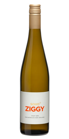 SOHO WHITE COLLECTION ZIGGY PINOT GRIS 2020, MARLBOROUGH